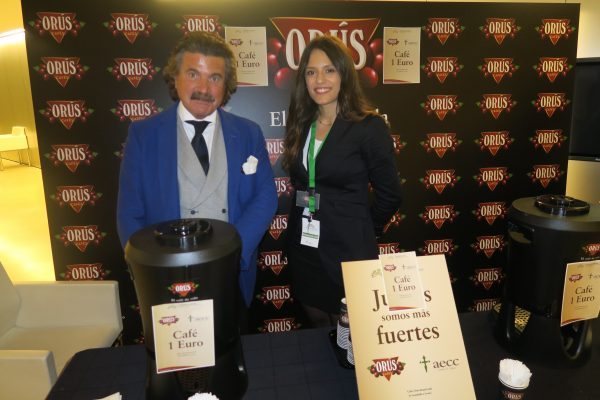Cafés Orús colabora con la Asociación Española contra el Cáncer