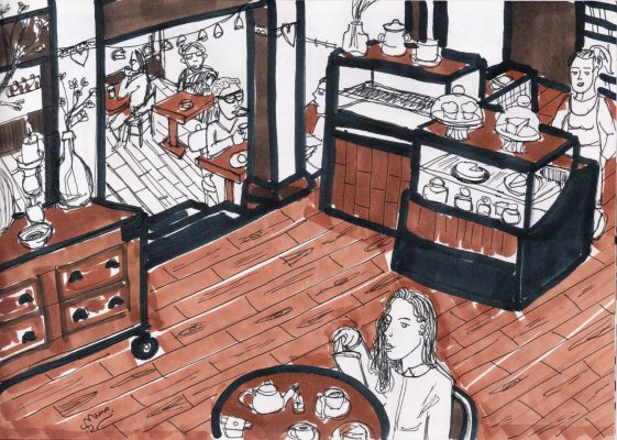 """Sergio Muro """"Café Japón"""""""