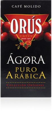 Café Puro Arábica Ágora Cafés Orús